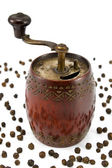 Old pepper mill — Stock Photo
