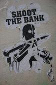 Shoot the Bank — Stock Photo