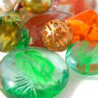 Glass marbles — Stock Photo