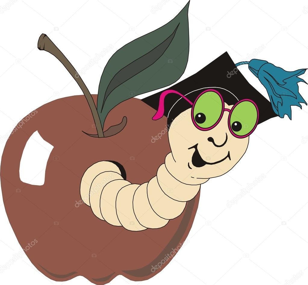 Caterpillar in vector — Image vectorielle #9941159