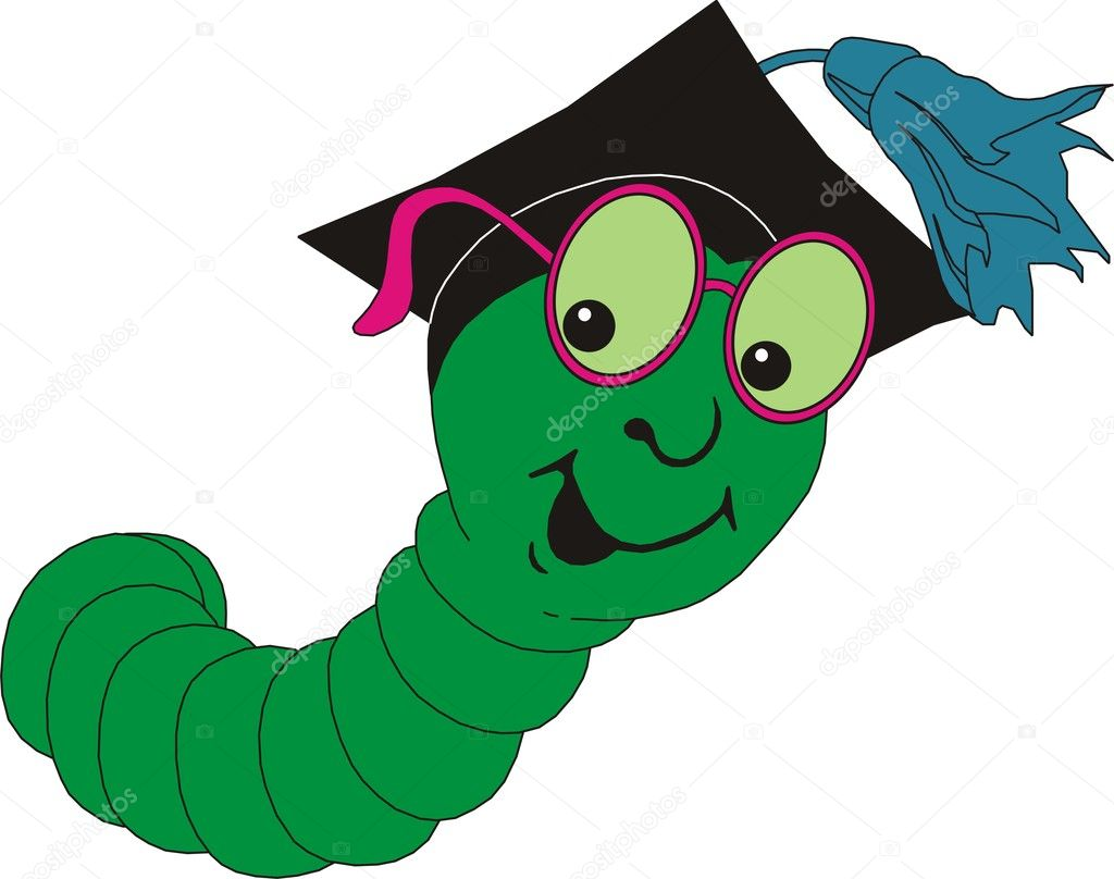Caterpillar in vector  Stock Vector #9941179
