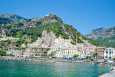 City of amalfi — Stock Photo