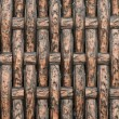 Texture of Bamboo Basket — Stock Photo