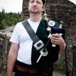 Royalty-Free Stock Photo: Proud Bagpiper