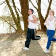 Running session — Stock Photo