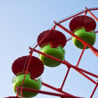 Stock Photo: Detail of Ferris Wheel