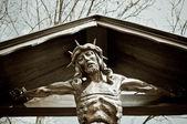 Cristo na cruz — Foto Stock