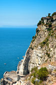 Cliff on the Amalfi Coastline — Stock Photo