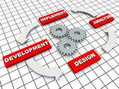 Circle of Development — Stock Photo