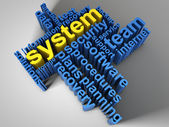 System — Stock Photo