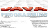 Java Programming — Stock Photo