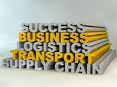 Supply Chain — Stock Photo
