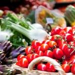 Vegetables and Fruits Arrangement — Stock Photo #8314173