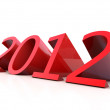 New Year 2012 — Stock Photo #8582229