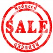 Sale Reduced — Stock Photo