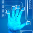 Fingerprint Scan — Stock Photo