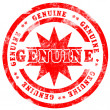 Genuine — Stock Photo