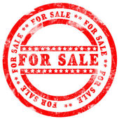 For Sale Stamp — Stock Photo