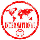 International Stamp — Stock Photo