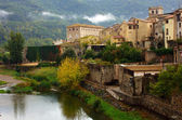 Medieval town of Besalu, Catalonia. Spain — Stock Photo