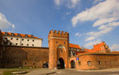Bridge gate, Torun, Poland — Stock Photo