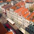 Stock Photo: Market square in old town of Torun, Poland