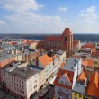 Old town of Torun, Poland — Stock Photo