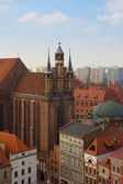 St Mary church, Torun, Poland — Stock Photo
