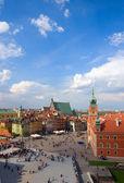 Centro storico, varsavia, polonia — Foto Stock
