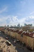 Alte innenstadt von warschau, polen — Stockfoto