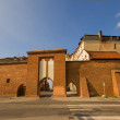 Stock Photo: Sailors Gate, Torun, Poland