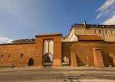 Marinai cancello, torun, polonia — Foto Stock