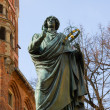 Royalty-Free Stock Photo: Monument of great astronomer Nicolaus Copernicus