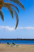 Beach las Teresitas, Tenerife, Spain — Photo