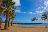 Playa las Teresitas, Tenerife, Spain — Stockfoto