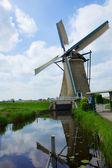 Dutch windmill — Stock fotografie