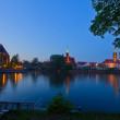 Island Tumsk, Wroclaw, Poland — Stock Photo #10608729