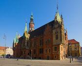 City hall of Wroclaw, Poland — Stock Photo