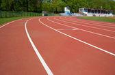 Racetrack path — Stock Photo