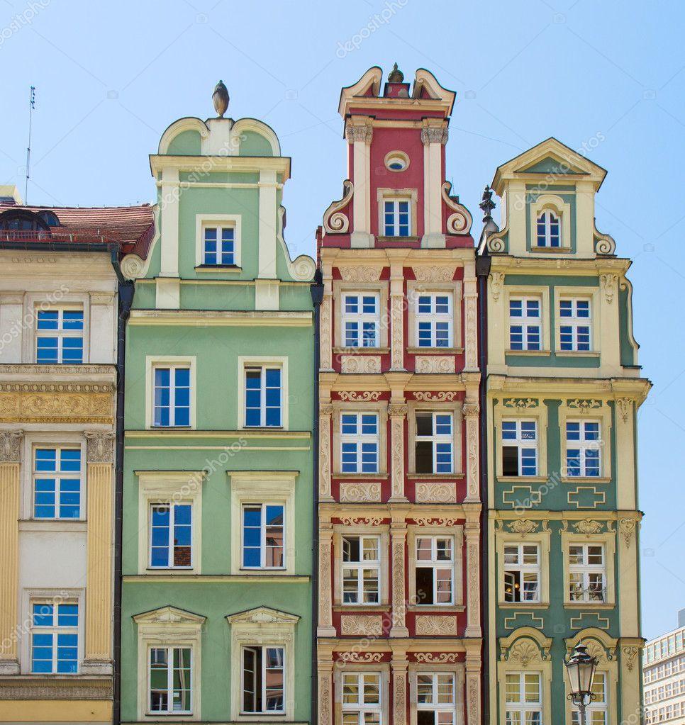 Gevel huizen van de oude stockfoto neirfys 10624335 - De mooiste gevels van huizen ...