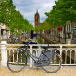 Old town, Delft, Holland — Foto de Stock