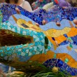 Masaic lizard by Antonio Gaudi — Stock Photo #7962587