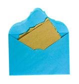 Vintage open mail — Stock Photo