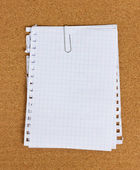 Pile of blank papers — Stock Photo