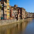 Old town of Girona, Spain — Stock fotografie