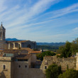 Old town of Girona, Spain — Stockfoto