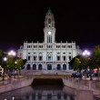 City hall of Porto, Portugal - Stock Photo