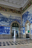 Train station of Porto, Portugal — 图库照片