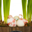 Foto de Stock  : Easter eggs