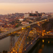 Porto at sunset, Portugal — Stock Photo #8843043